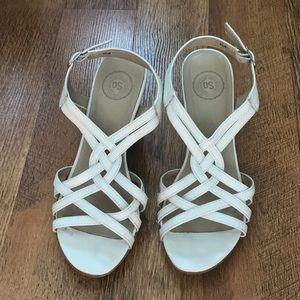 SO white heels